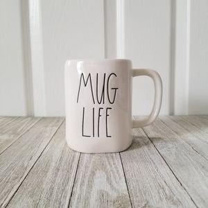 Rae Dunn MUG LIFE Ceramic Mug